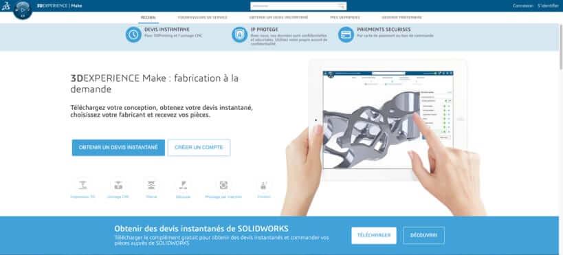 3DExperience Marketplace Make