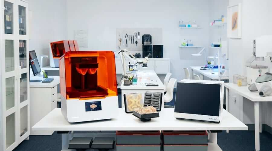 Formlabs Form 3B 3D Printer impression