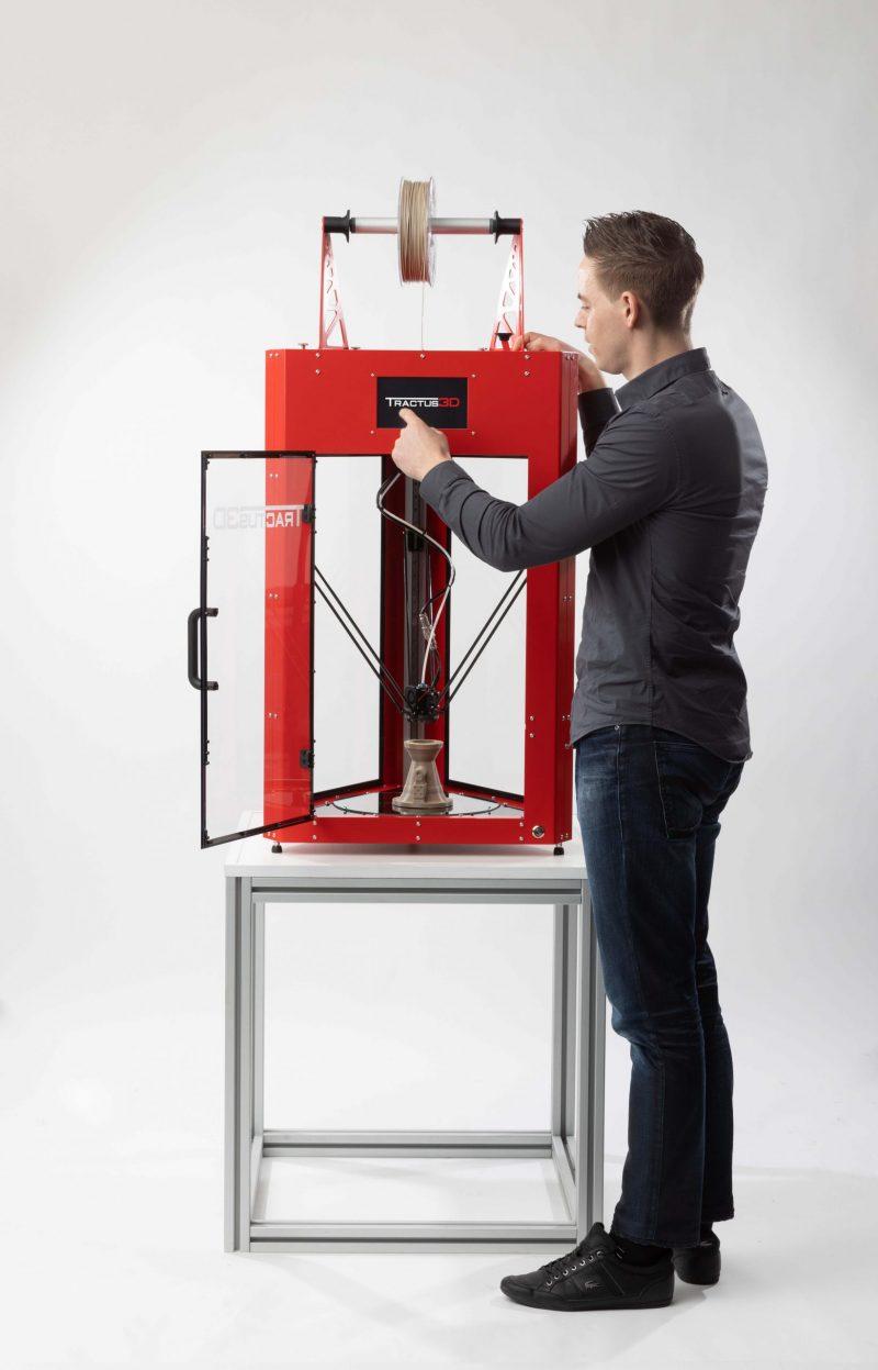 Tractus3D T850P 3D Printer impression