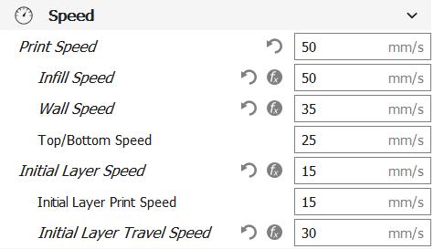 ender 3 speed