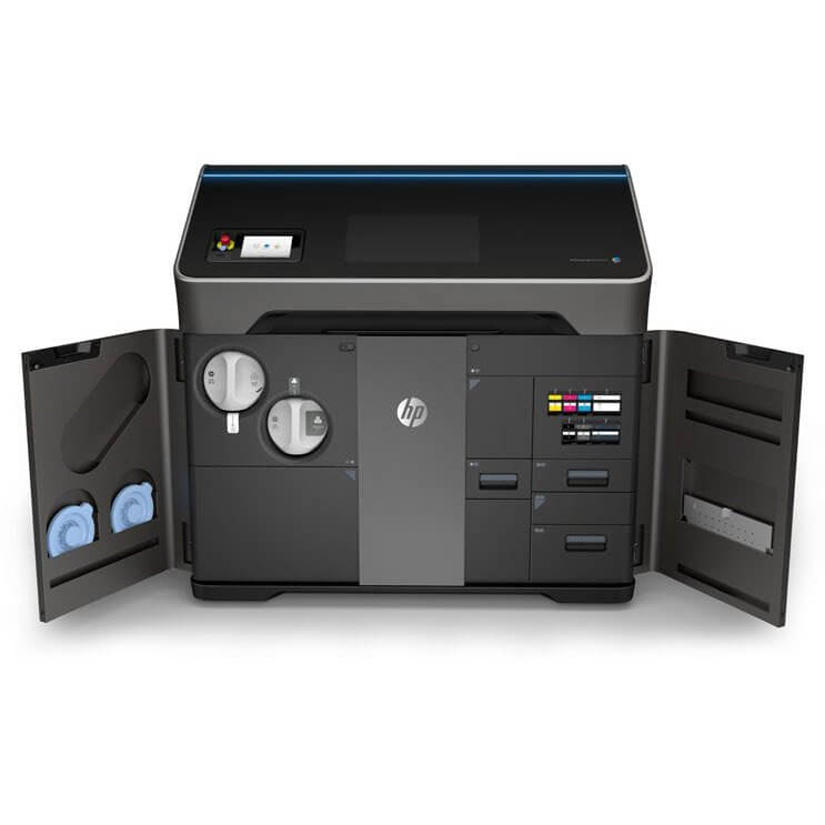 hp jet fusion 580 color 3d printer open
