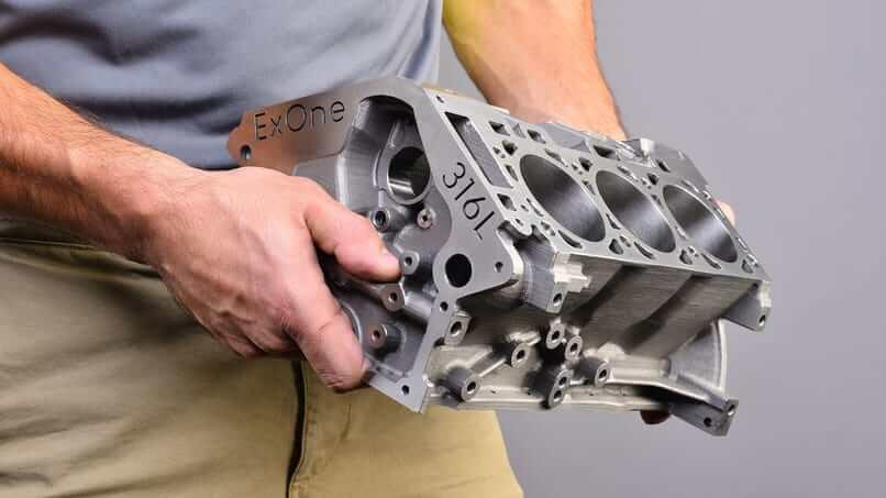 BJ 3D Printing Metals
