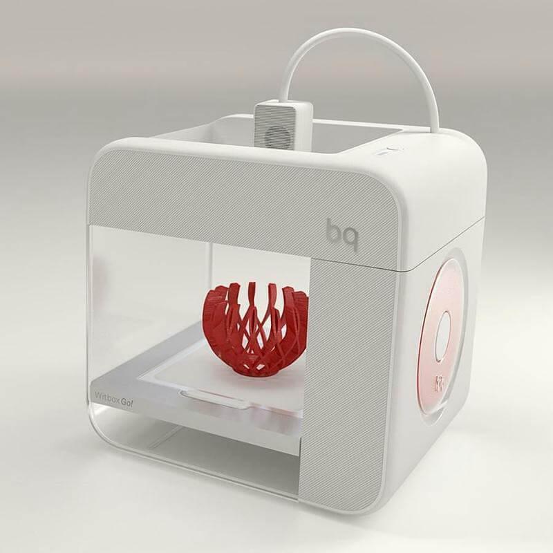 BQ Witbox Go 3D printer