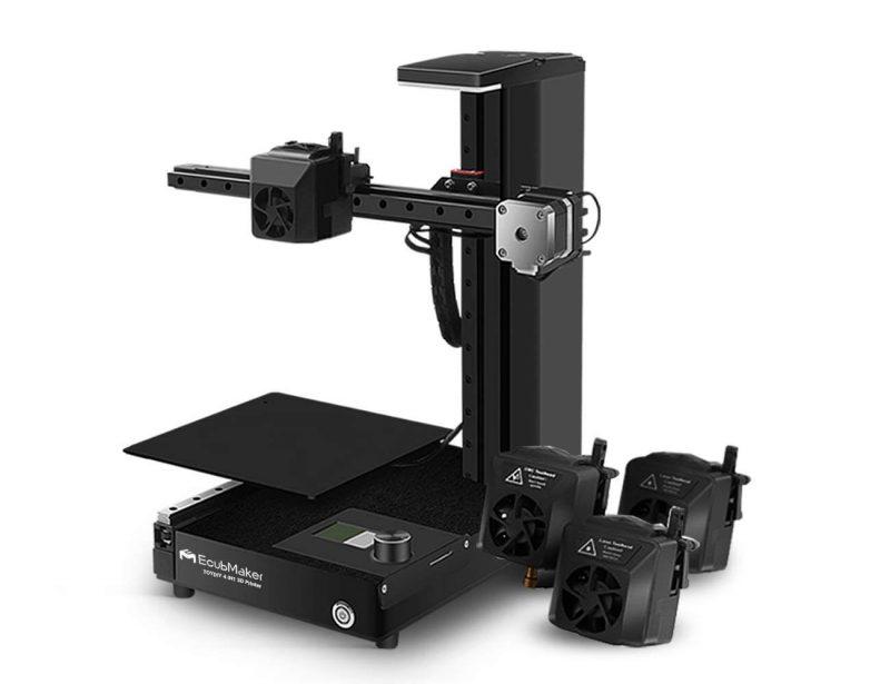 ecubmaker toydiy 4-in-1 3d printer
