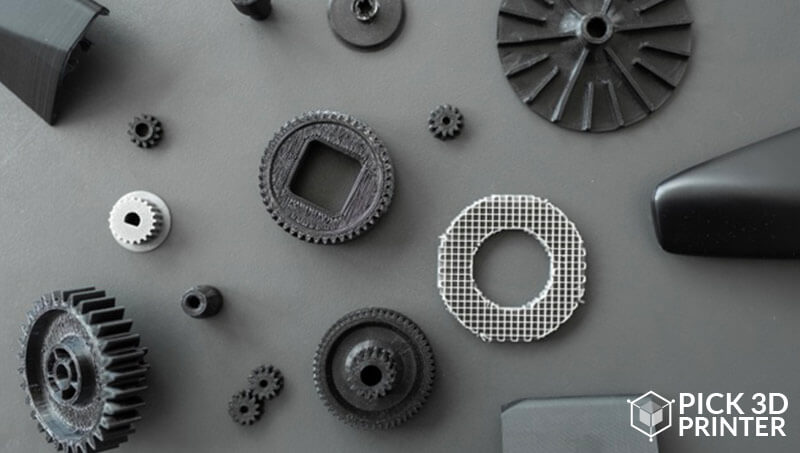 Material Binder Jetting for Manufacturing Parts