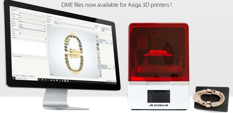 Asiga Max 3D Printer software