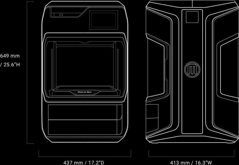 Makerbot METHOD Carbon Fiber Edition specs