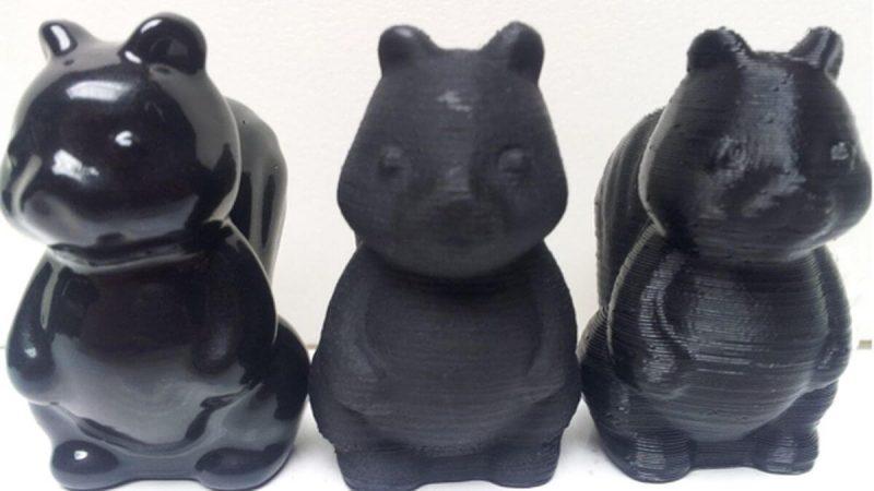 polishing 3D prints