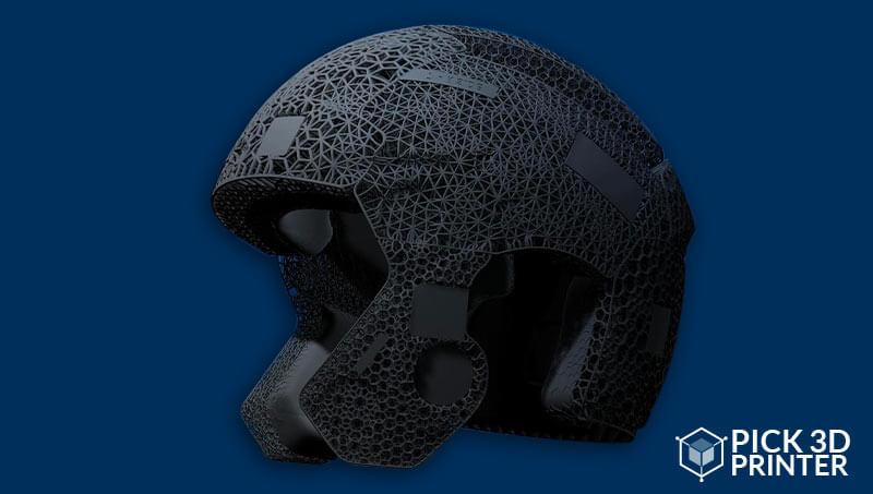 3D Printed Football Helmet