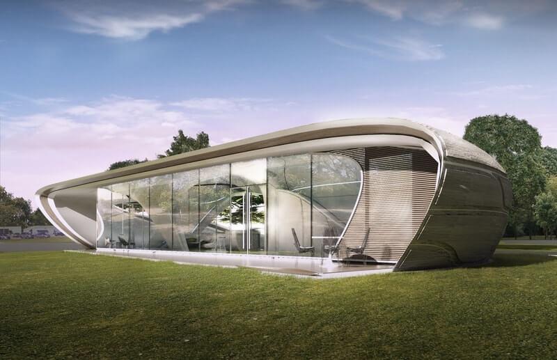 Artsy 3D Printed Home