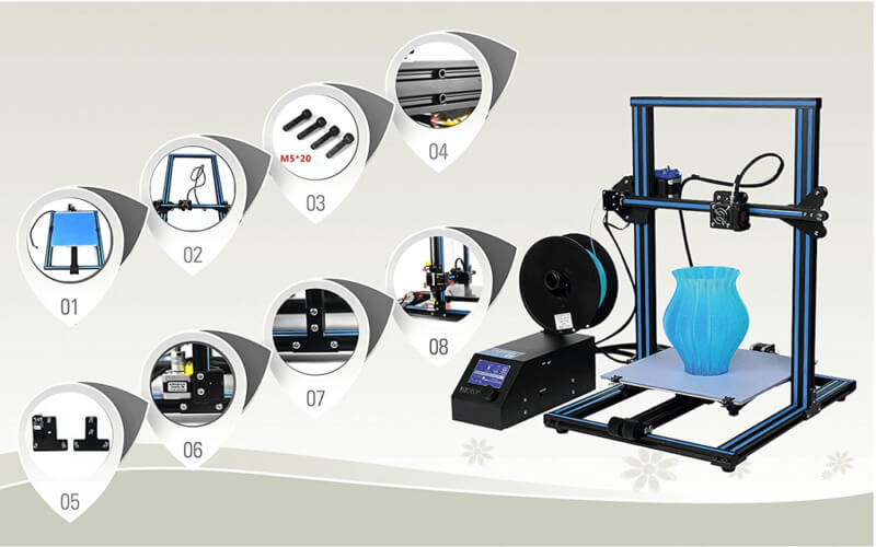 Creality CR-10 features