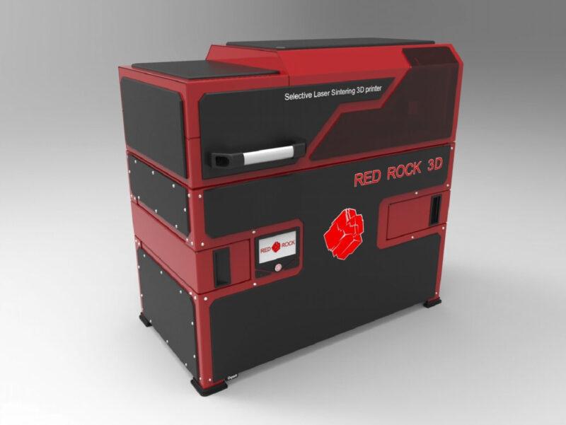 Red Rock 3D printer impression