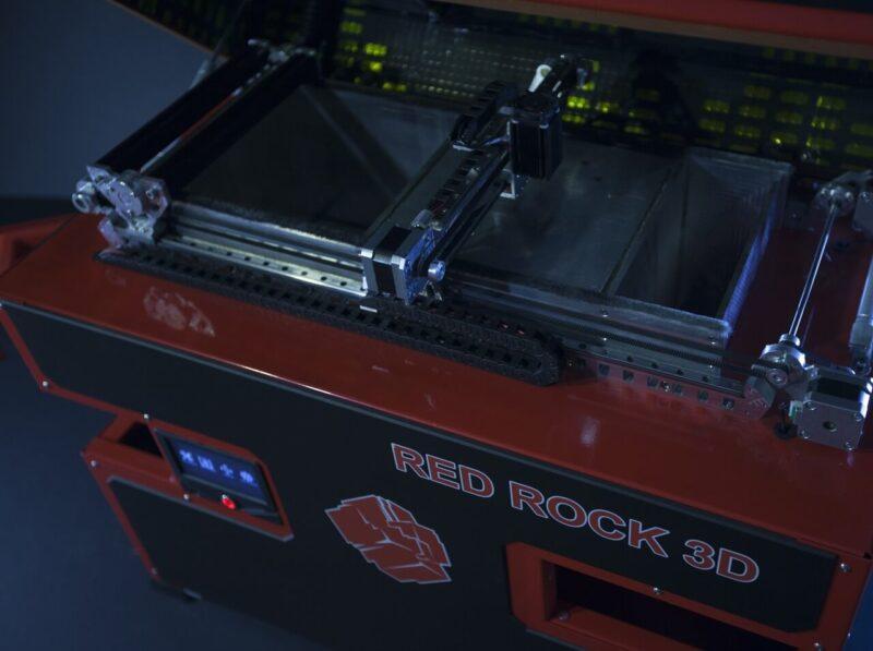 Red Rock 3D printer specs