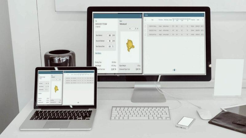 XYZPrinting MfgPro230 xS software