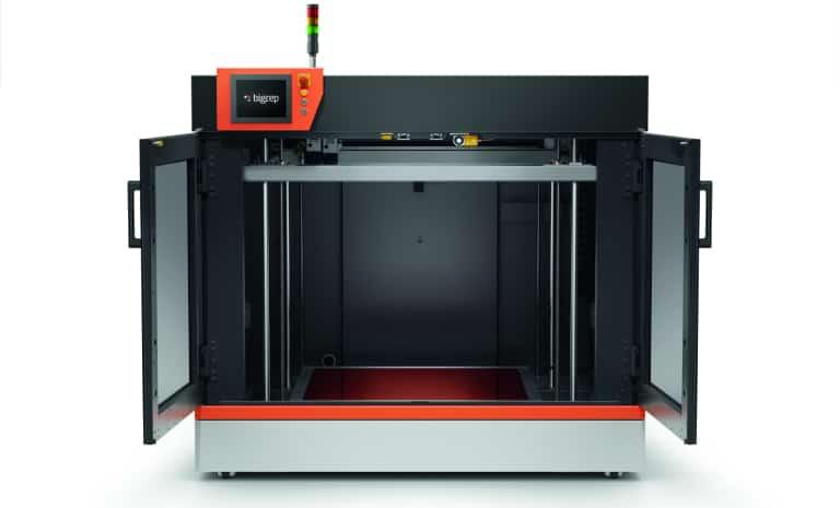 bigrep pro 3d printer impression