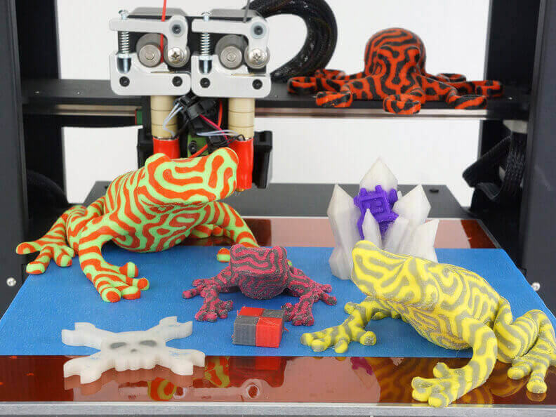 printrbot metal plus 3d printer print quality
