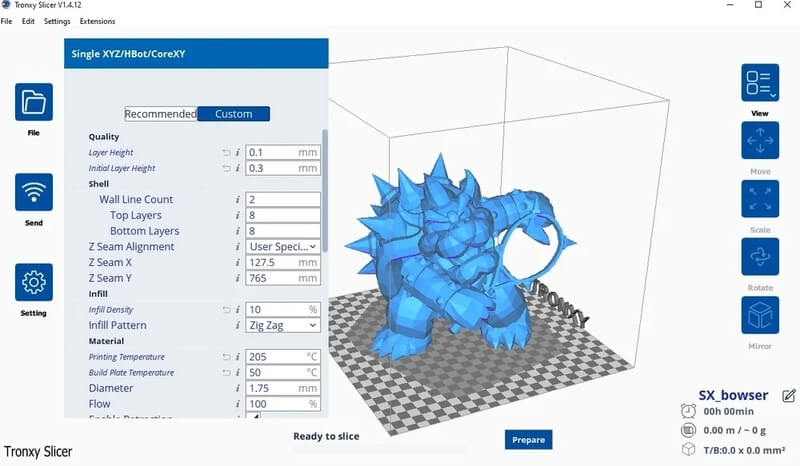 tronxy xy-2 pro 3d printer