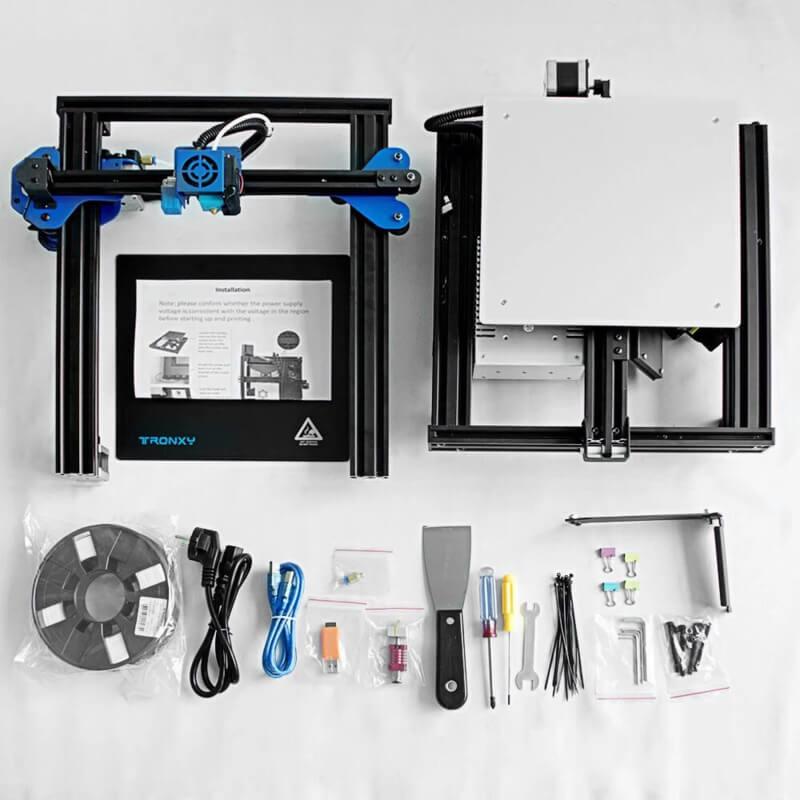 tronxy xy-2 pro 3d printer impression
