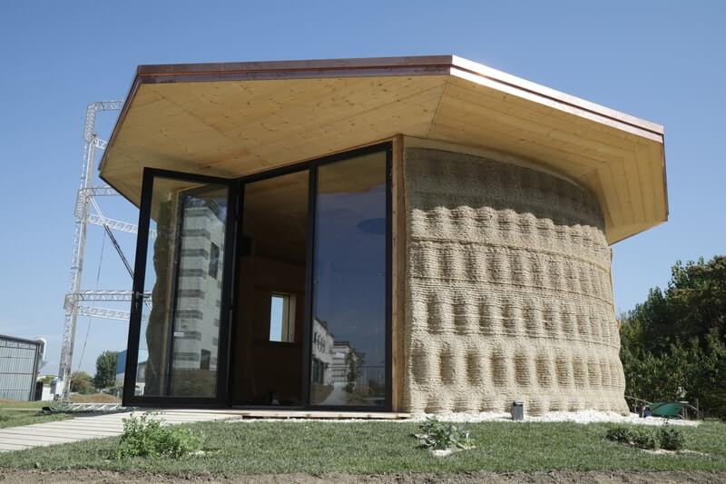 Italy-based WASP 3D Printed house