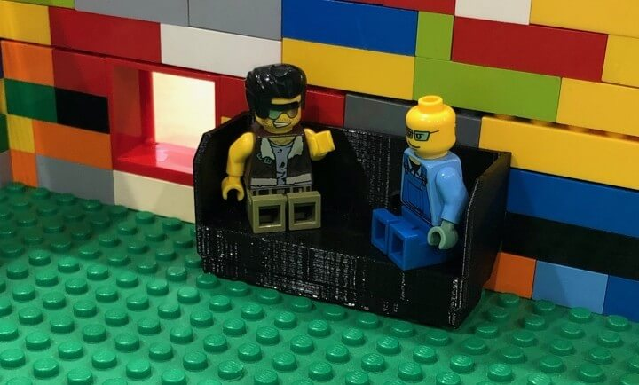 Minifig Couch