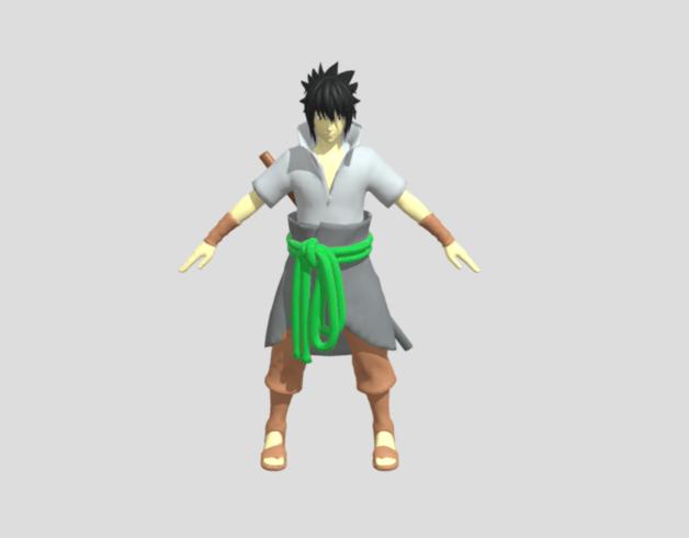 Sasuke Uchiha by Justin Ranjan