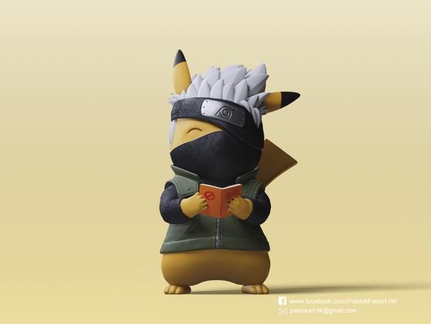 Thingiverse Pikachu X Kakashi