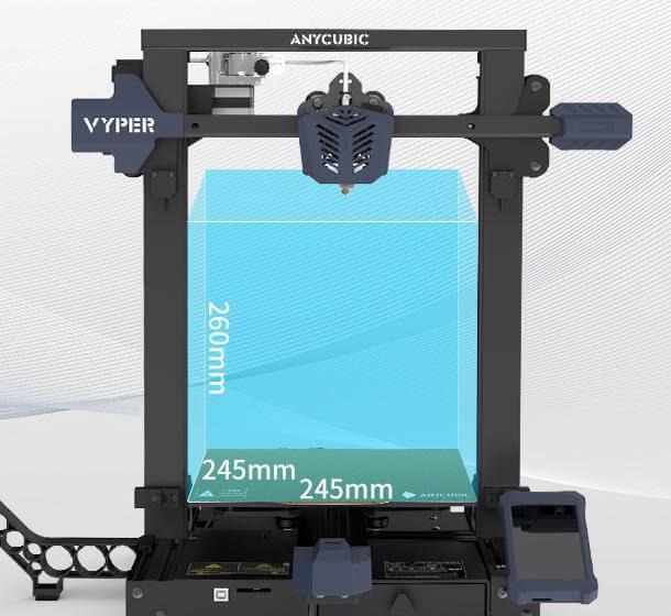 anycubic vyper 3d printer specs