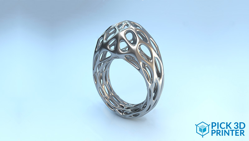 What are theFinishes of 3D Printing Silver