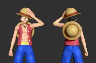 10 Top Free One Piece 3D Print Models For Download