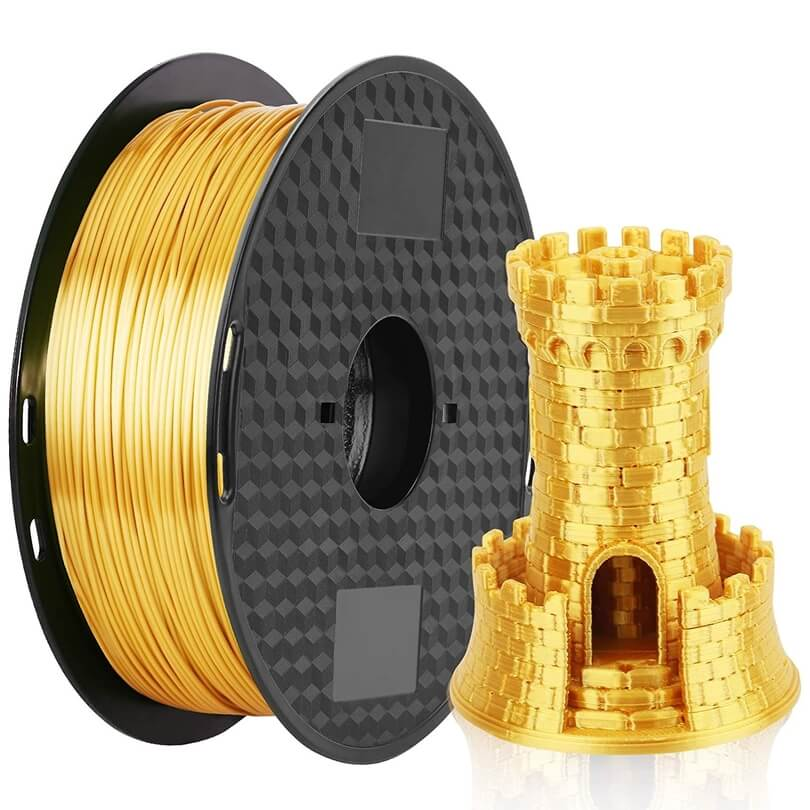 Amazon Basics Gold PLA filament