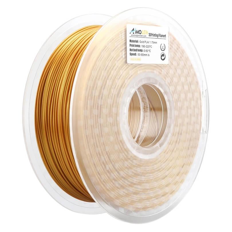 Amolen Gold PLA filament