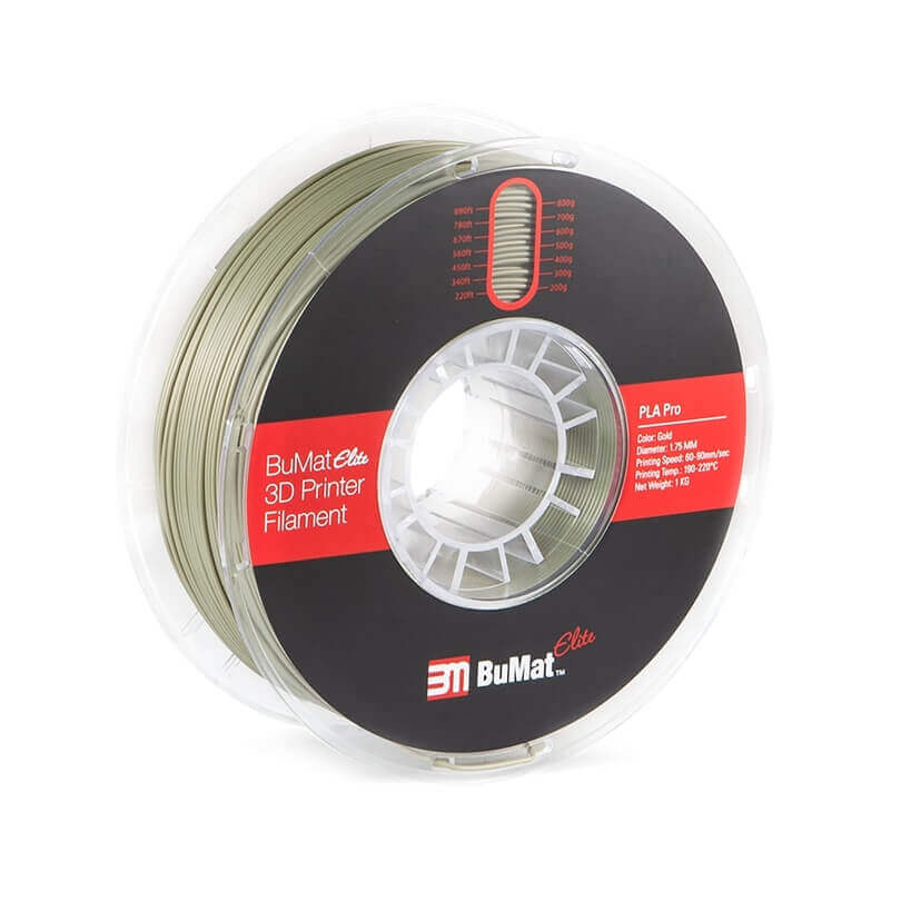 BuMat Gold PLA filament