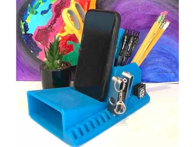 3D printed tool organizer 3D model