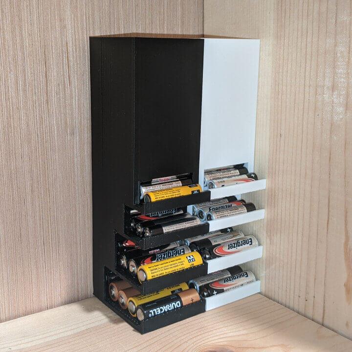 Battery Dispenser 3d model