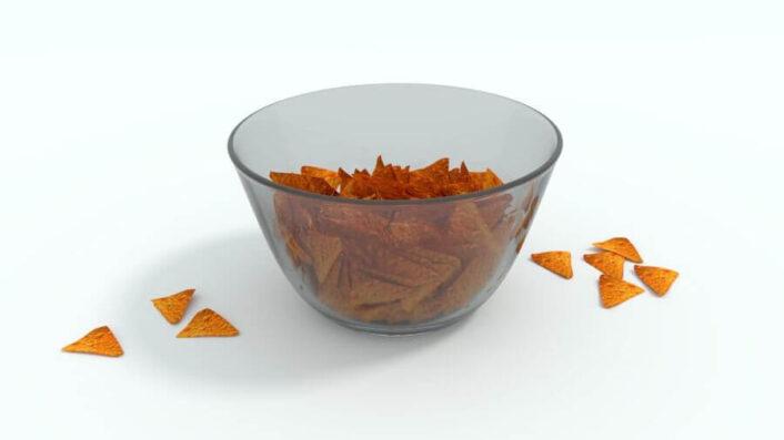 Chip Bowl 3D MODEL