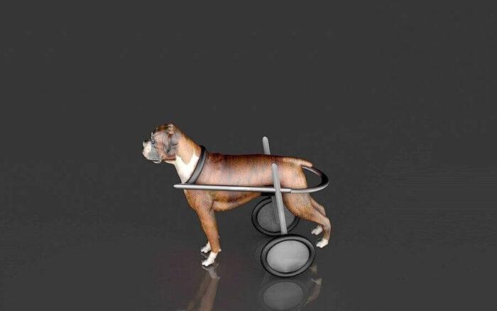 Dog Wheelchair 3d model
