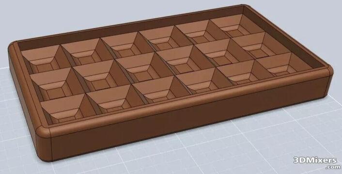 Food Molds 3D model