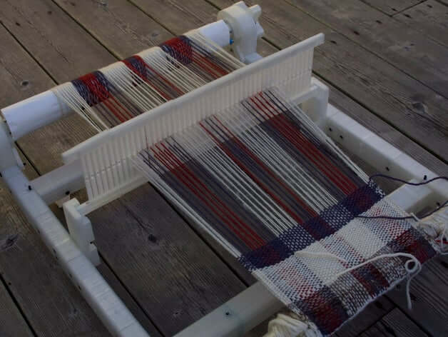 Rigid Heddle Loom 3D model