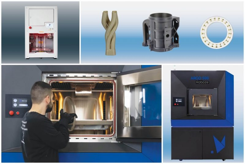 Roboze Argo 500 3D printer features