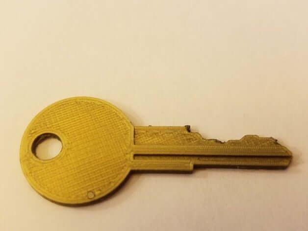 Spare Keys 3D model