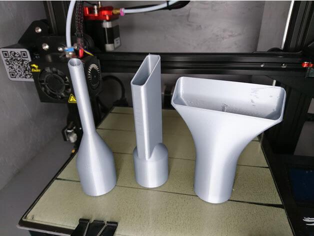 Vacuum cleaner nozzles 3D model