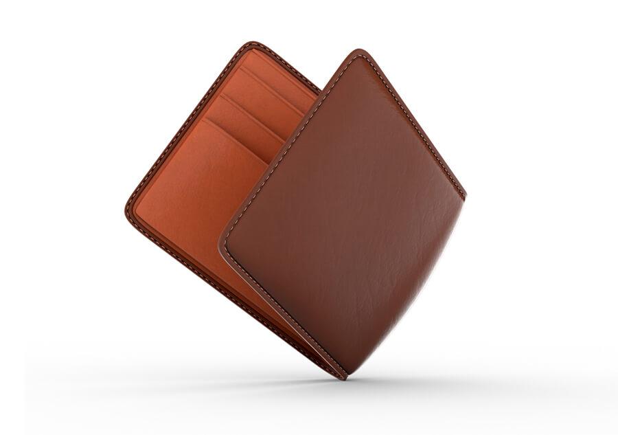 Wallet 3D model