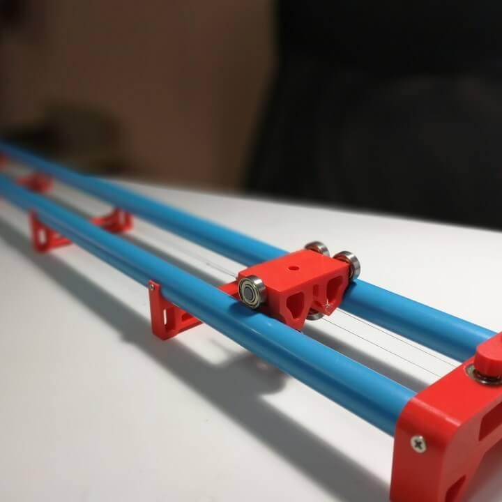 camera slider 3D model