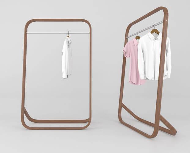hangers 3d model